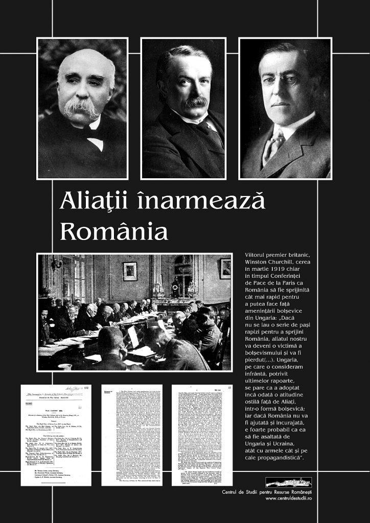 Aliaţii înarmează România