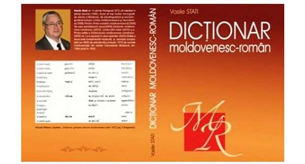 Dicţionarul moldovenesc-român al lui Vasile Stati revine la tipografia Academiei de Ştiinţe a Moldovei