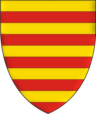 """Stema lui """"roi de Blaque"""" din armorialul Wijnbergen"""