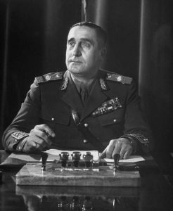 Primarul Bucurestiului generalul Dombrovsky
