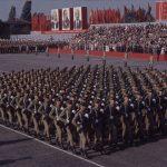 Defilare in Bucureşti de 23 august 1964
