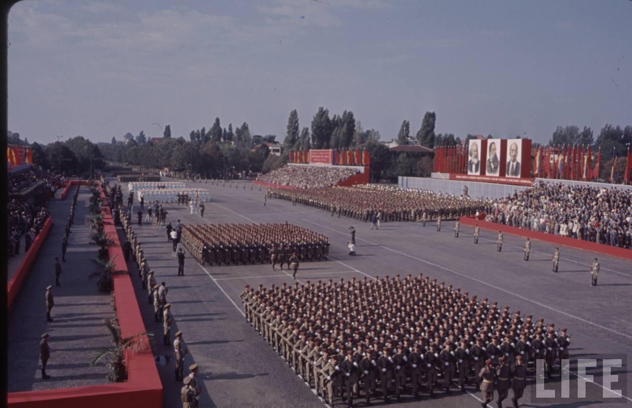 Parada din Bucureşti de 23 august 1964