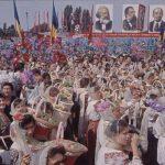 Defilarea agricultorilor în Bucureşti de 23 august 1964