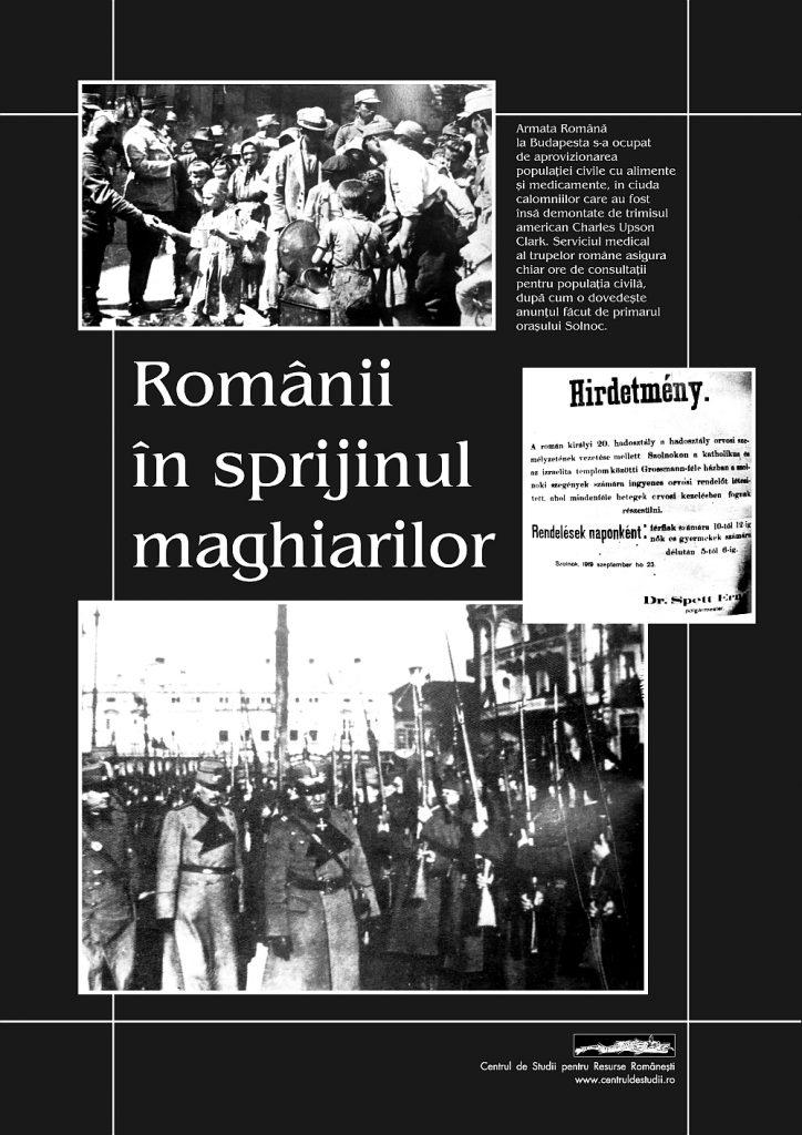 Românii în sprijinul maghiarilor