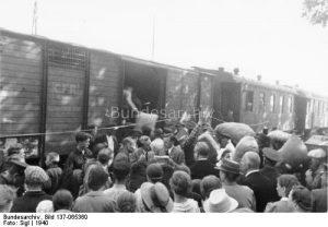 Strămutarea germanilor basarabeni