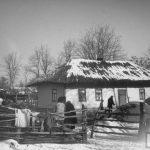 Casă ţărănească din Basarabia anului 1940