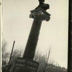 Monumentul lui Puşkin din Chişinău în anul 1940