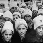 Elevi la Şcoala de băieţi din Chişinău în 1940