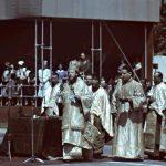 Slujba dinaintea paradei de 10 mai 1943