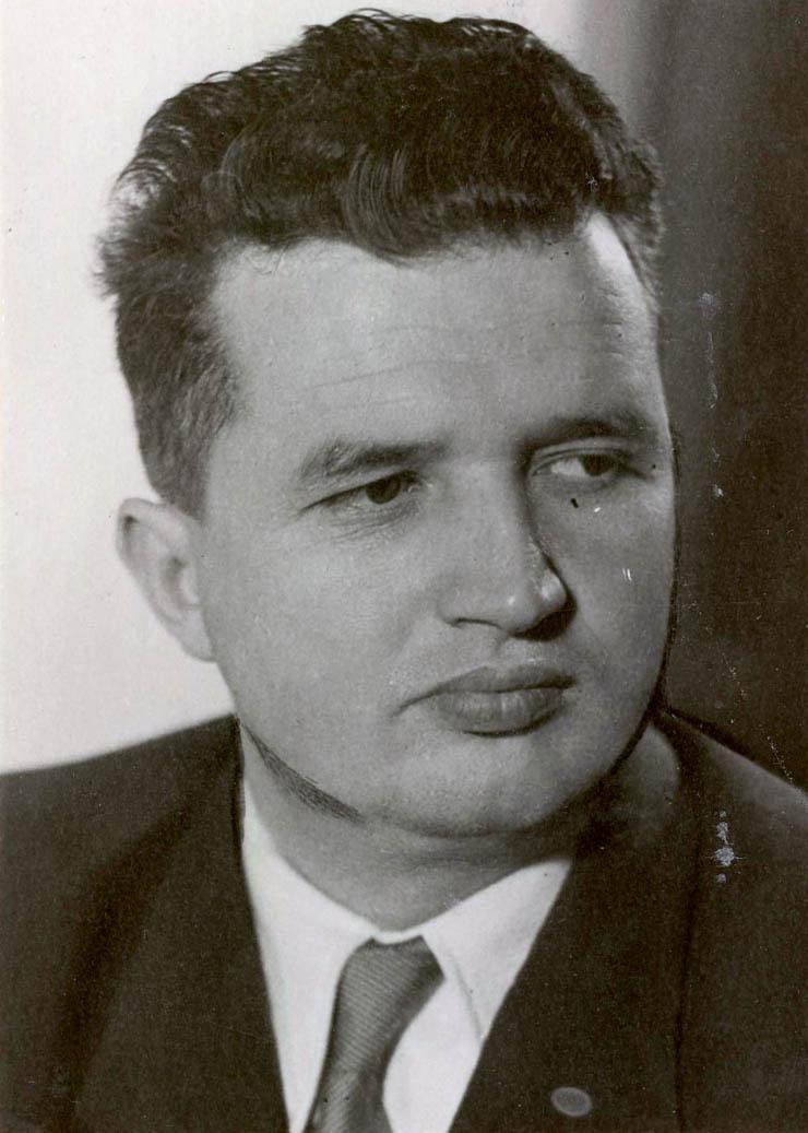1956 - Portret Nicolae Ceauşescu Fototeca online a comunismului românesc cota 17-1956