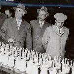 1959 - Nicolae Ceauşescu alături de Gheorghe Gheorghiu Dej la uzina Electroputere Craiova Fototeca online a comunismului românesc cota 14-1959