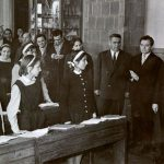1965 - Nicolae Ceauşescu în vizită la liceul Nicolae Bălcescu din Piteşti Fototeca online a comunismului românesc