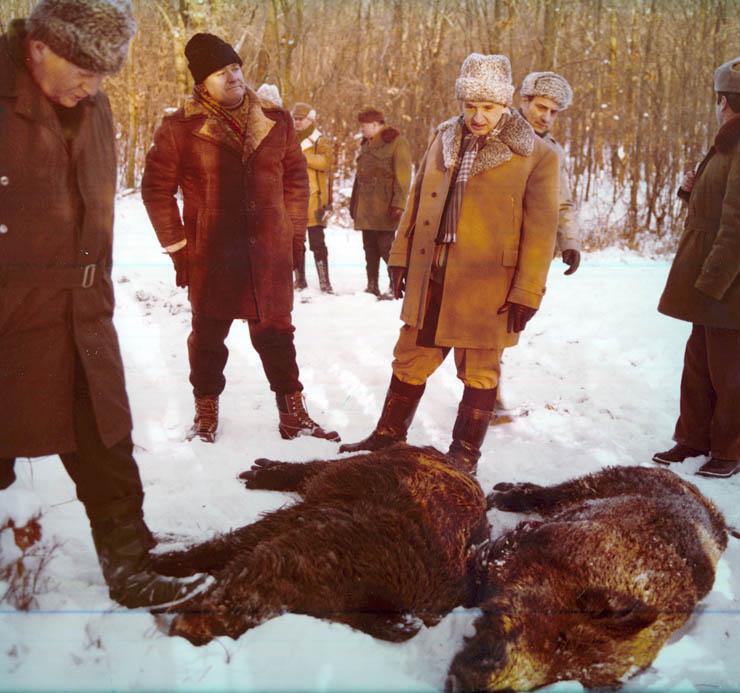 1981 - Nicolae Ceauşescu la vânătoare Fototeca online a comunismului românesc