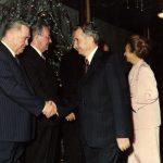 1988 - Nicolae Ceauşescu la ultimul lui Revelion Fototeca online a comunismului românesc