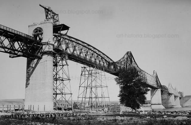 Constructia podului de la Cernavoda