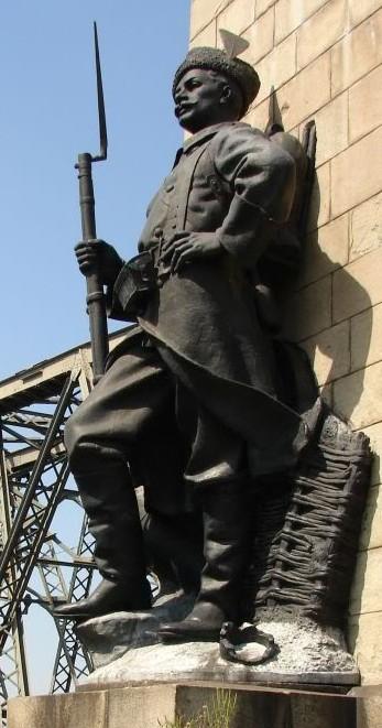 Dorobantul de la podul Cernavoda