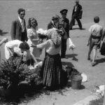 Bucuresti 1941, Tiganci florarese pe bulevardul Bratianu Staatsarchiv Freiburg W 134 Nr. 033226g
