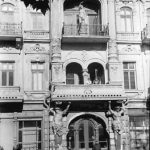 Hotelul Bristol de pe faleza oraşului Odesa în iunie 1943