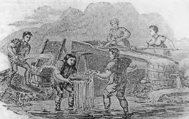 Spalatori de aur din Banat pe la 1800