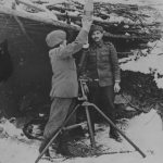 1942 vânători de munte cu mortier de 120 mm în Caucaz