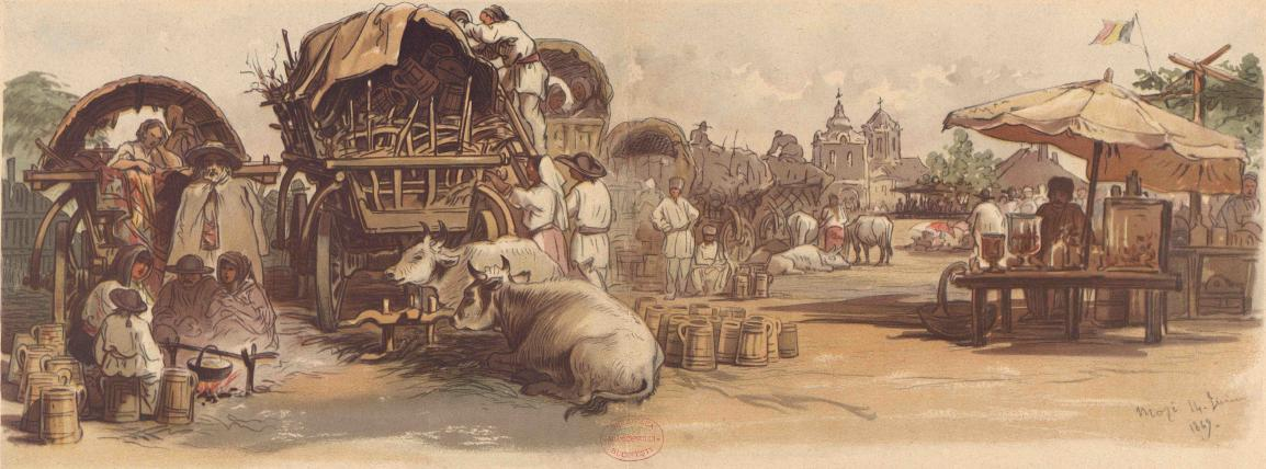 Bucureştiul din 1869 în acuarelele lui Preziosi