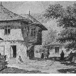 Casă din Bucureşti la 1860
