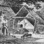 Gospodărie din Argeş la 1860