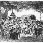 Horă muntenească la 1860