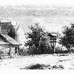 Sat de lângă Târgu-Jiu la 1860