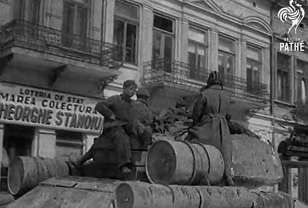 23 august 1944, Basarabia şi British Pathe