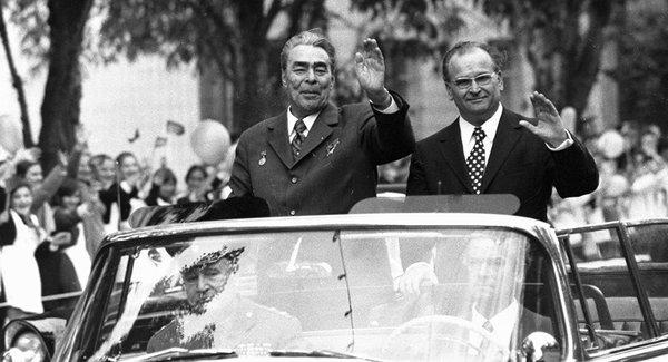 Brejnev si Bodiul la Chisinau