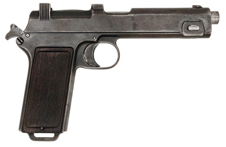 Steyr-Hahn 1912, alt pistol austro-ungar creat de orădeanul Karel Krnka