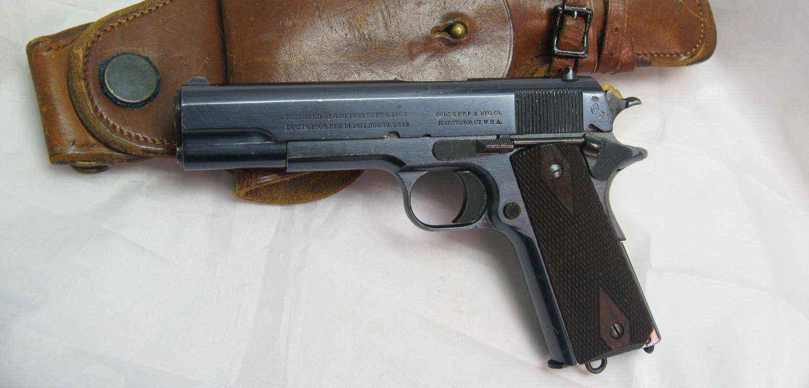 Colt model 1911 – arma care a revoluționat lumea pistoalelor