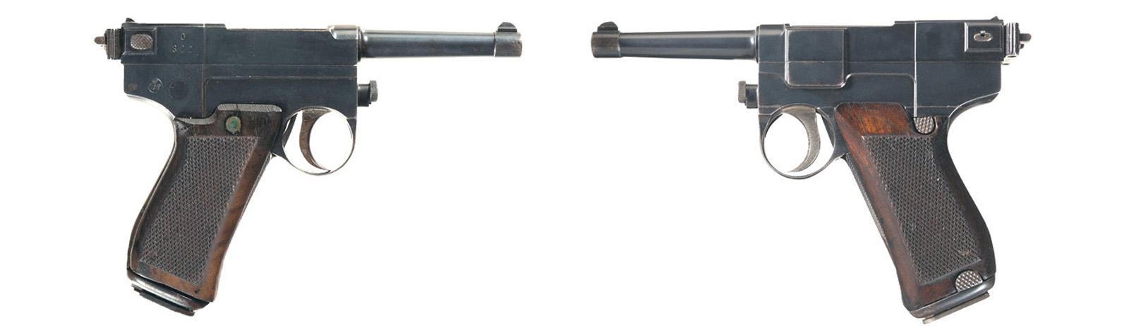 Hibridul italian: pistolul Glisenti model 1910
