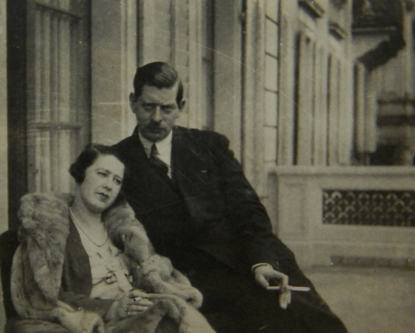Elena Lupescu și Carol al II-lea.