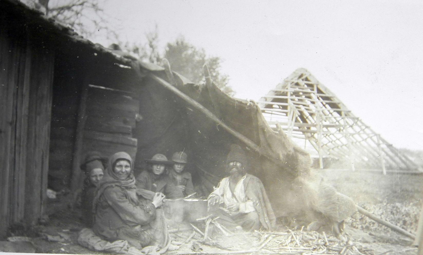 Șatră de țigani în România în jurul anului 1900