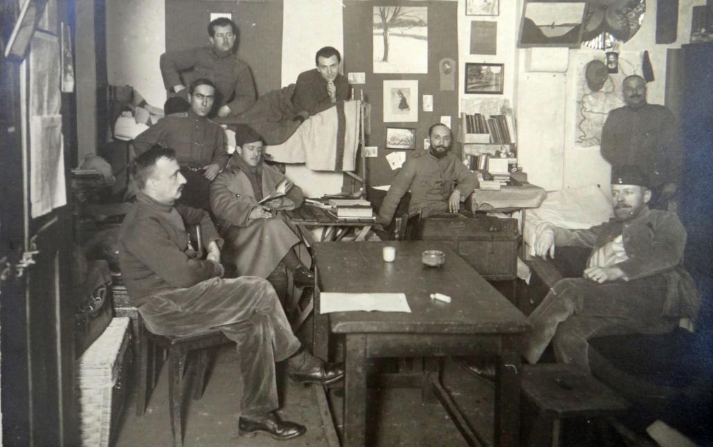 ofițeri prizonieri