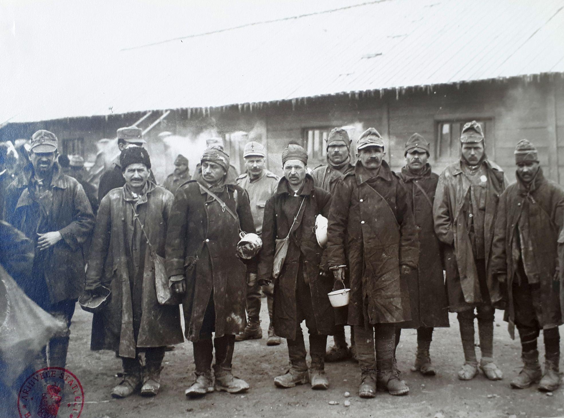 prizonieri români primul război mondial